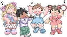 Crianças vamos adorar a Deus de todo o coração