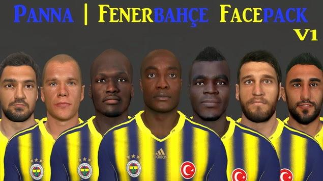 PES 2014 Fenerbahçe Facepack V1 by Panna