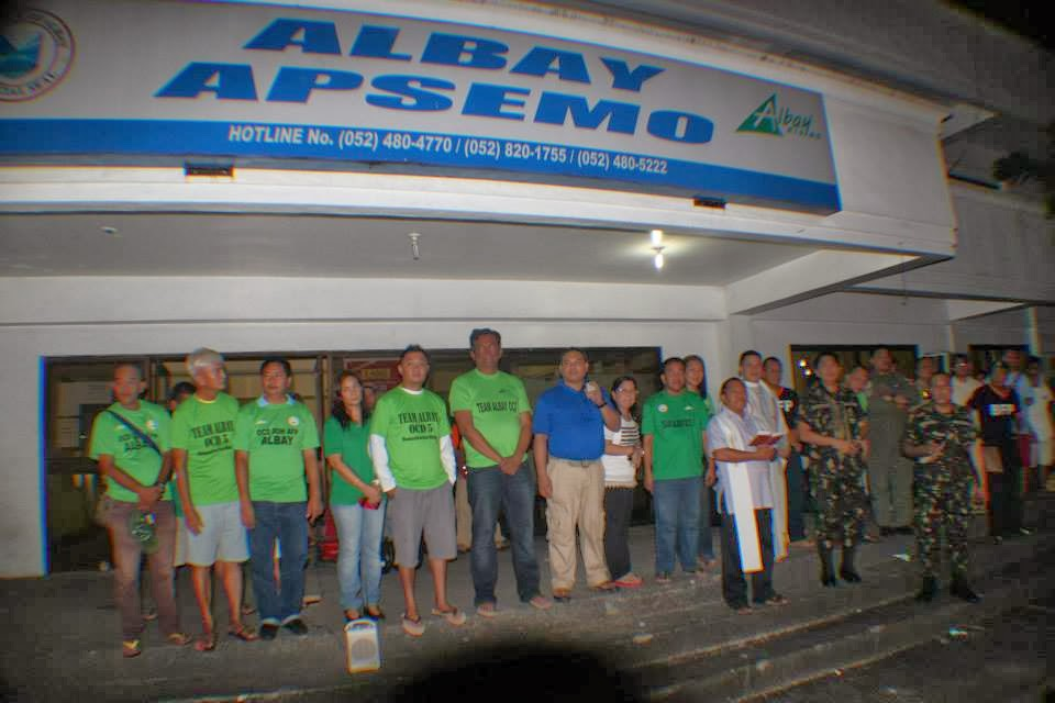 NEWS | Albay humanitarian mission leaves for Leyte, Samar after