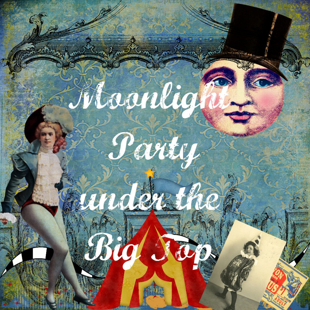 Moonlight party under the big top