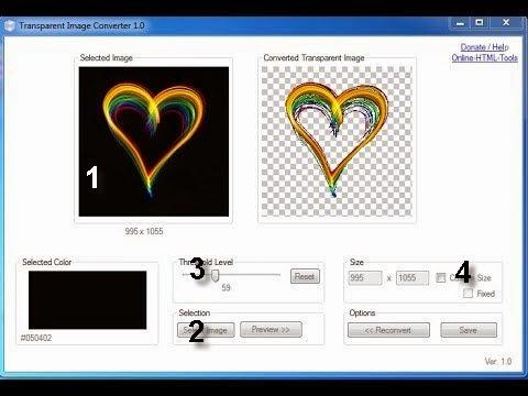شرح حذف الخلفيات عن الصور ببرنامج صغير Transparent Image Converte Hqdefault