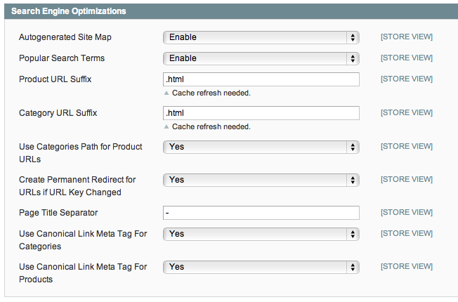 magento how to add meta tags