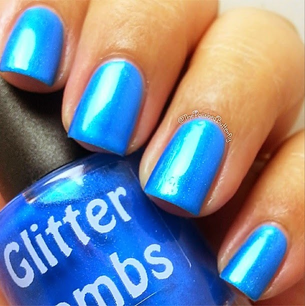 Butter Cream Cake Nails: Glitter Lambs- Nail Polish, DIY, Beauty, Makeup And