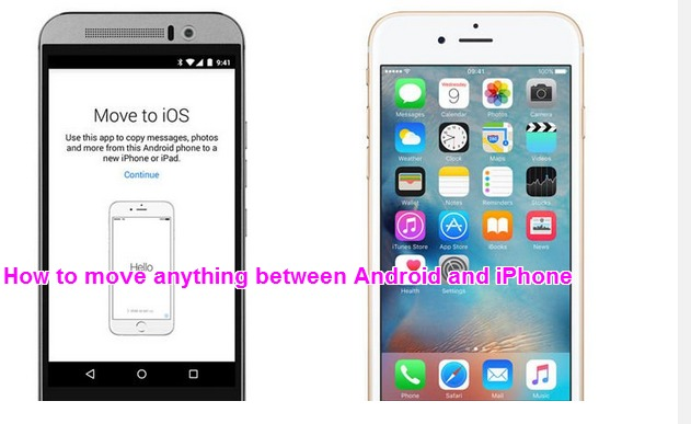 How to move anything between Android and iPhone