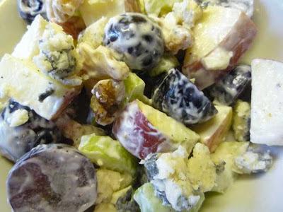 Waldorf Salad à la Bleu d'Elizabeth