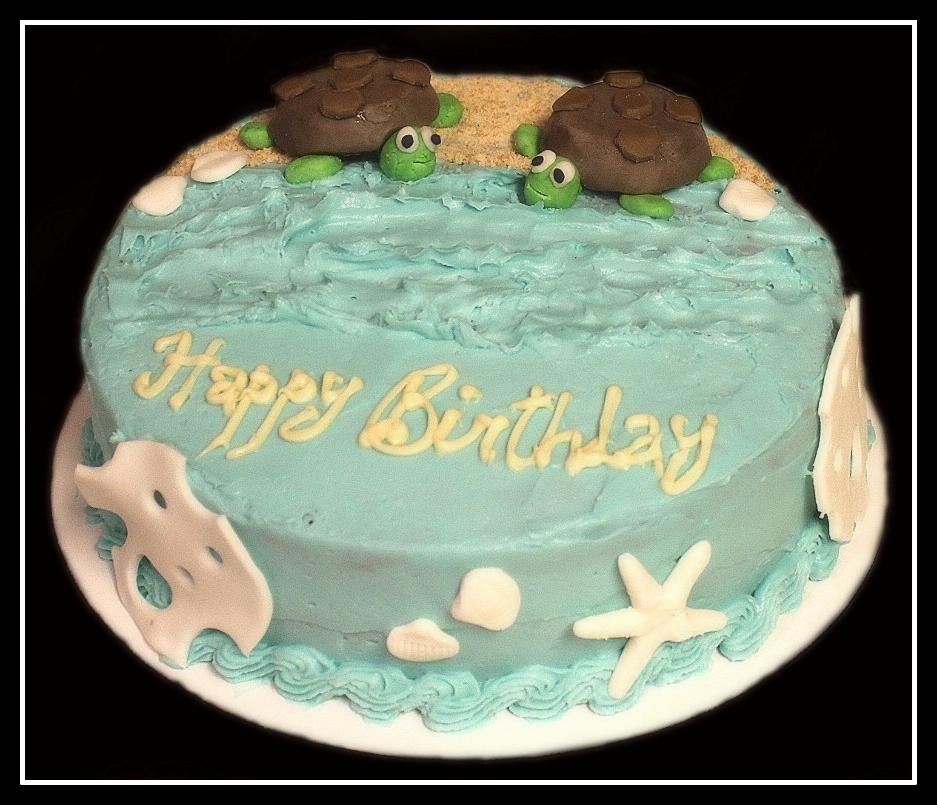 Viju Cakeshop Sea Turtle Cake