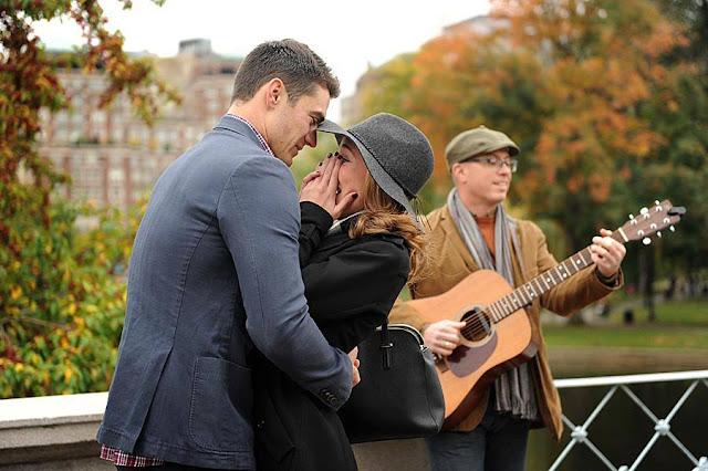 Boston Public Garden Surprise Wedding Proposal