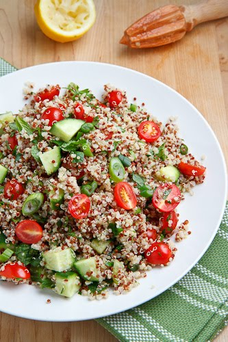 Quinoa Tabbouleh Salad on Closet Cooking