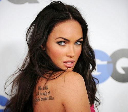 Megan Fox Sexy Tatuaggi
