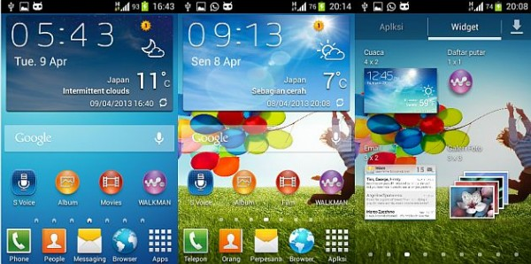 How to Install Galaxy S4 Launcher and AccuWeather