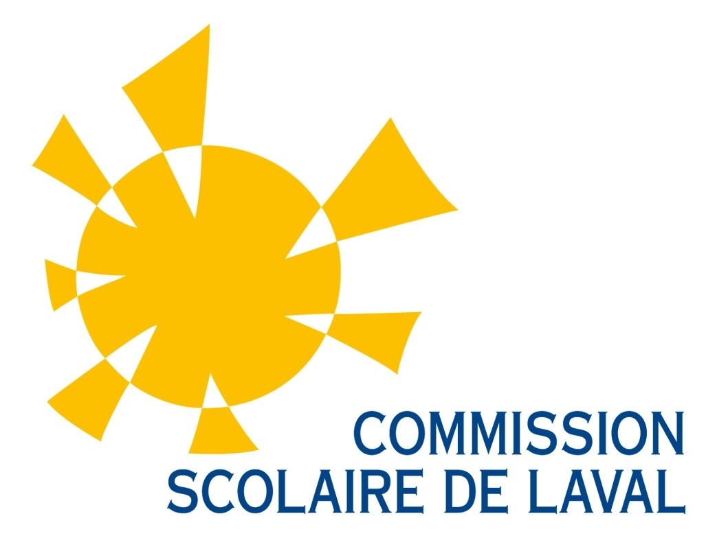 ... et en styromousse, a la forme du logo de la Commission Scolaire