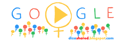 Google Doodle International Women's Day 2014