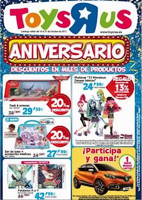 catalogo aniversario toysrus 2013