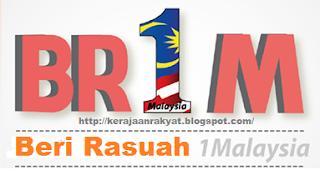 Bantuan Rakyat 1Malaysia (BR1M) BR1M: Beri Rasuah 1 Malaysia