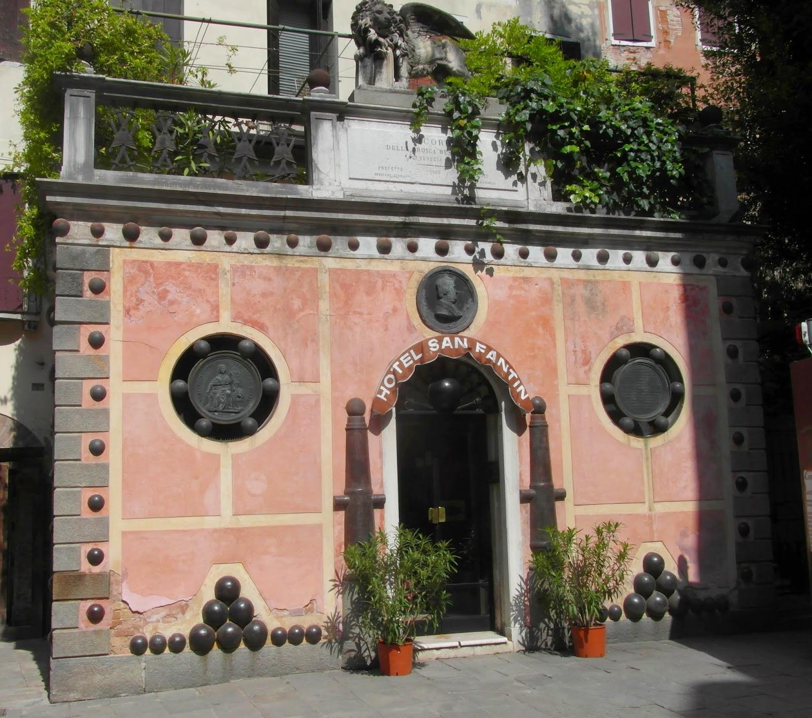 Daniele Manin and the Hotel San Fantin, Venice