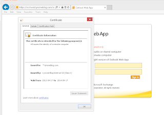 Lync me unified communications blog owa integration with lync i have seen dozens of exchange 2010 deployments using wildcard certificates to publish owa which works great unless your trying to integrate lync and your yadclub Images