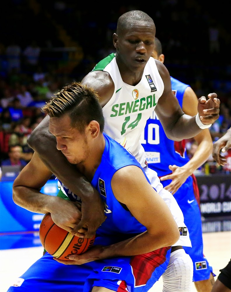 Gilas Pilipinas def. Senegal, 81-79  in OT (VIDEO)  FIBA World Cup 2014