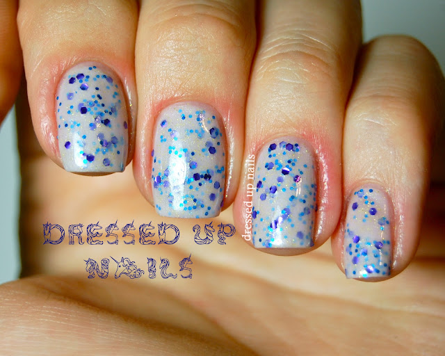 Dressed Up Nails - Serum No. 5 Shrinking Violet swatch