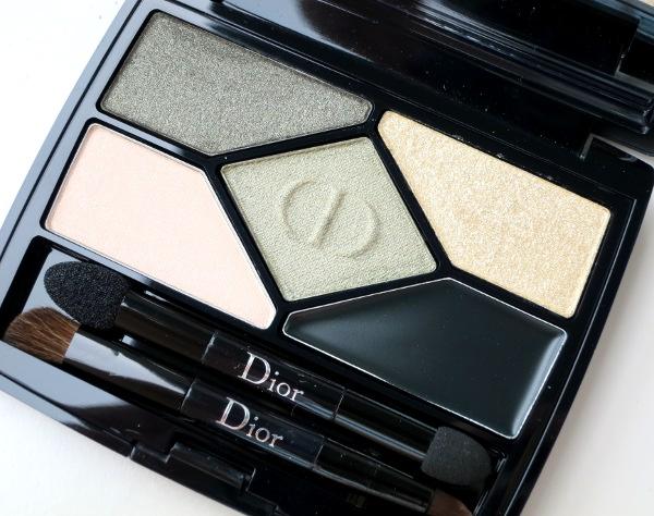 Dior 5 Couleurs Designer All-in-One Eyeshadow Palette Khaki Design