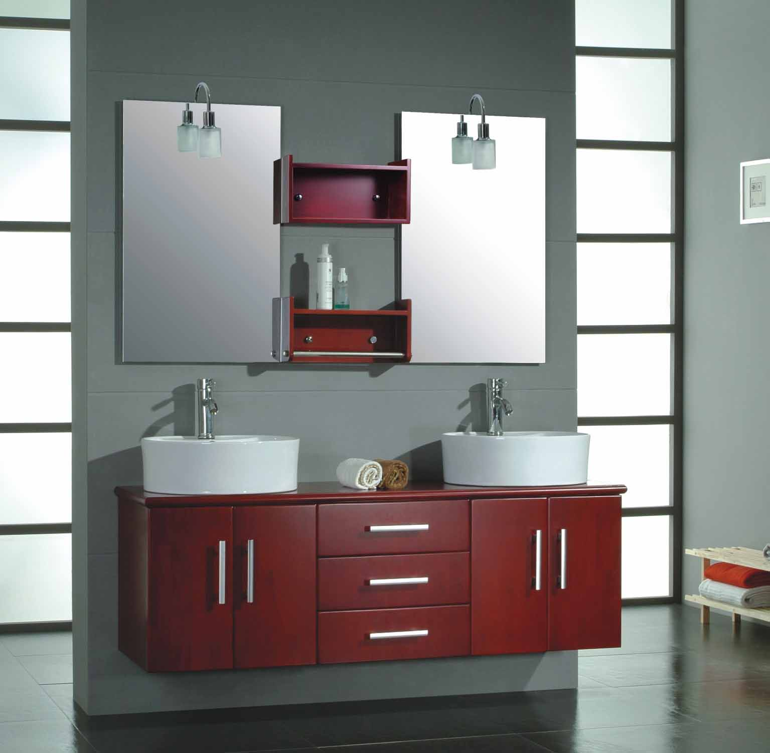 Interior design ideas bathroom furniture choosing for Accesorios lavabo