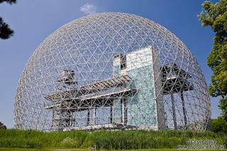 Edificio de la Biosphere de Montreal