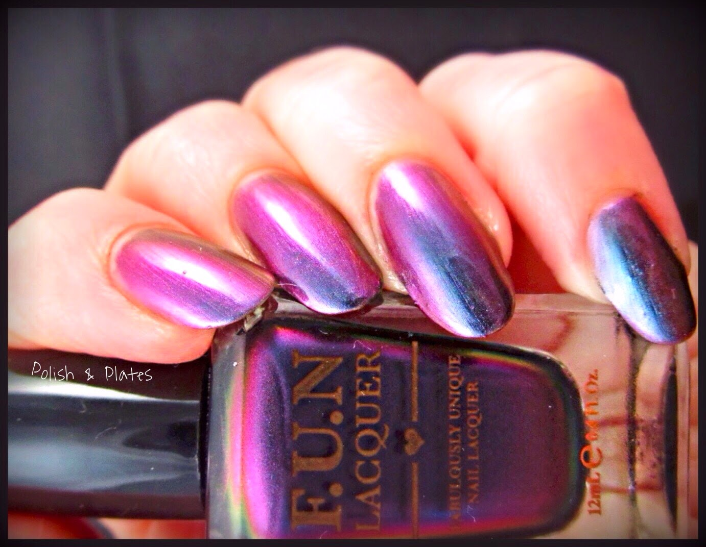 Polish & Plates: F.U.N Lacquer - Love 2015 Collection - Partial Review