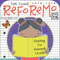 Reading For Research Month!
