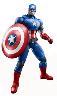 "Hasbro Captain America Marvel Legends 6"" Marvel Now! Captain America"