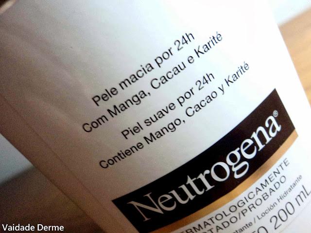 Naturals Body Care Loção Hidratante Corporal da Neutrogena
