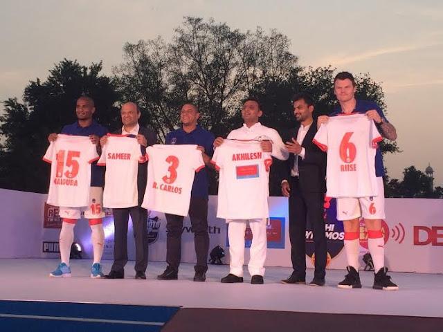 Delhi Dynamos FC launch their new Kit