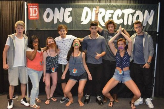 one direction meet and greet photos dustin