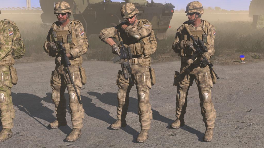 弱者の日記^^Arma 3 用のオランダ軍 MARSOF ユニット アドオンが更新で新しい武器が追加