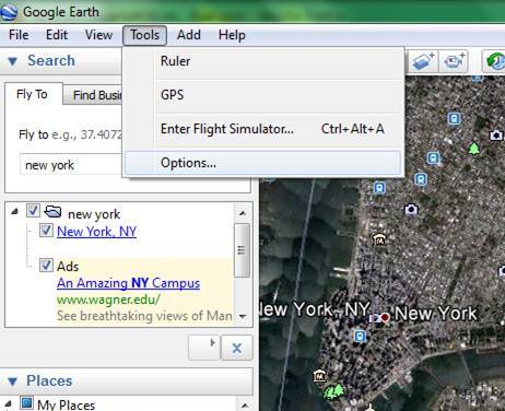 how to change google earth to utm