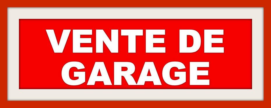 Entr 39 amis vente de garage 31 mai 1er et 2 juin - Prix de vente d un garage ...