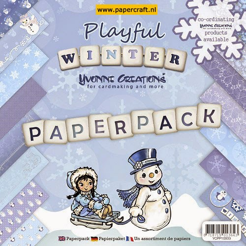 Playful Winter van Yvonne Creations