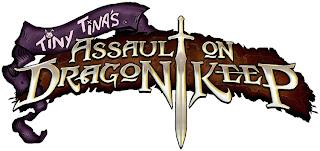 borderlands 2 tiny tinas assault on dragons keep logo Borderlands 2: Tiny Tinas Assault on Dragon Keep (Multi Platform)   Logo, Concept Art, Screenshots, & Gameplay Footage