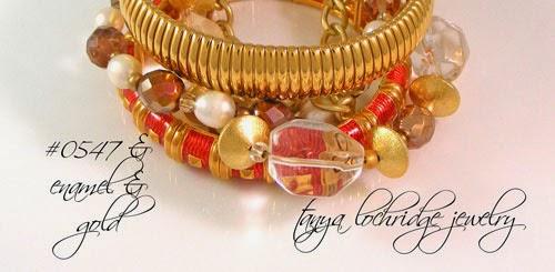 Crystal Quartz Gemstone, Pearl & Gold Vermeil Bracelet