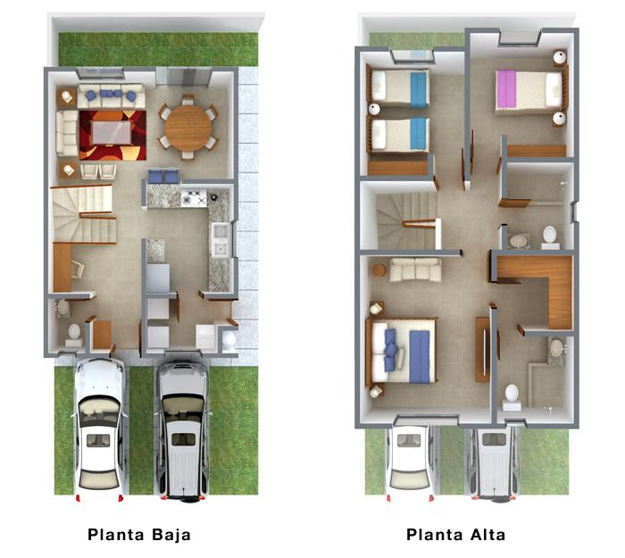 Planos de casas y plantas arquitect nicas de casas y for Planos de casas pequenas de una planta