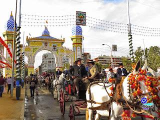 Feria de Sevilla 2014 Entrada principal
