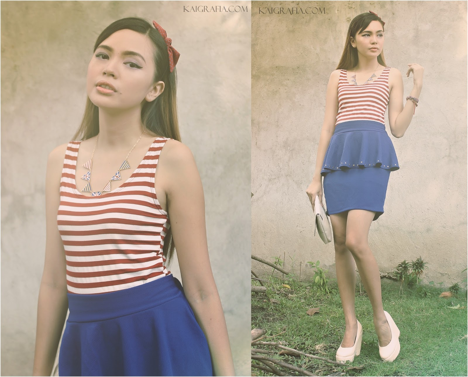nautical trend sailor-inspired outfit
