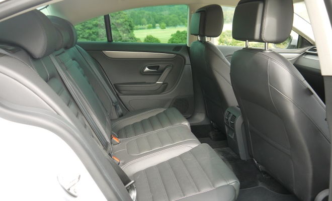 Volkswagen 2012 CC GT rear seats