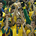 Brazil rout Spain 3-0 to win the 2013 Confederations Cup