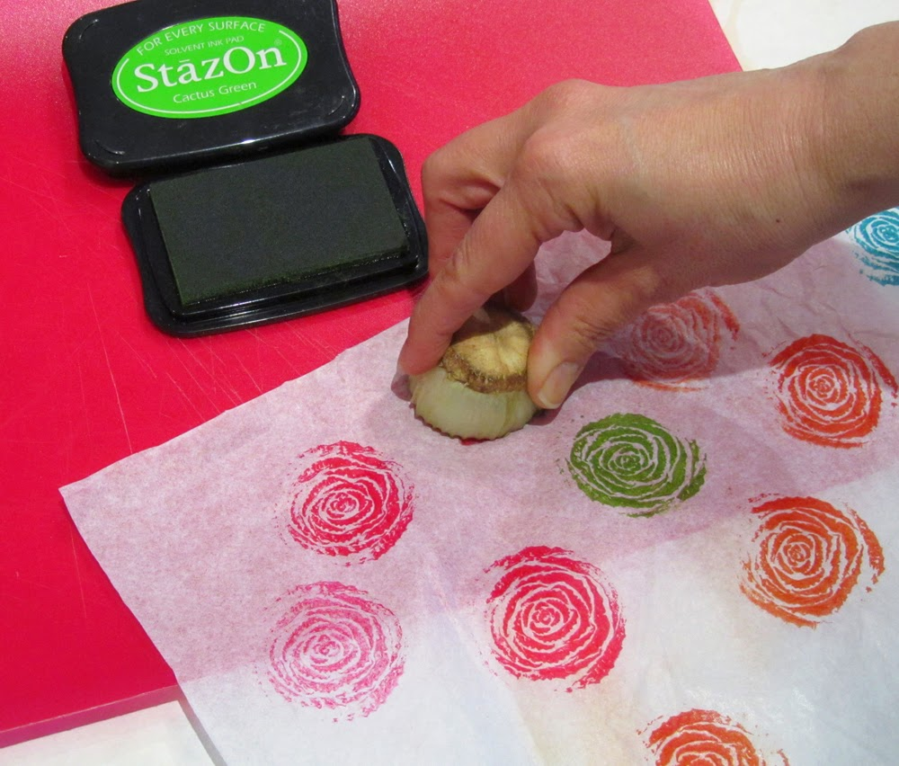 The Matchbook Quick And Easy Vegetable Printing