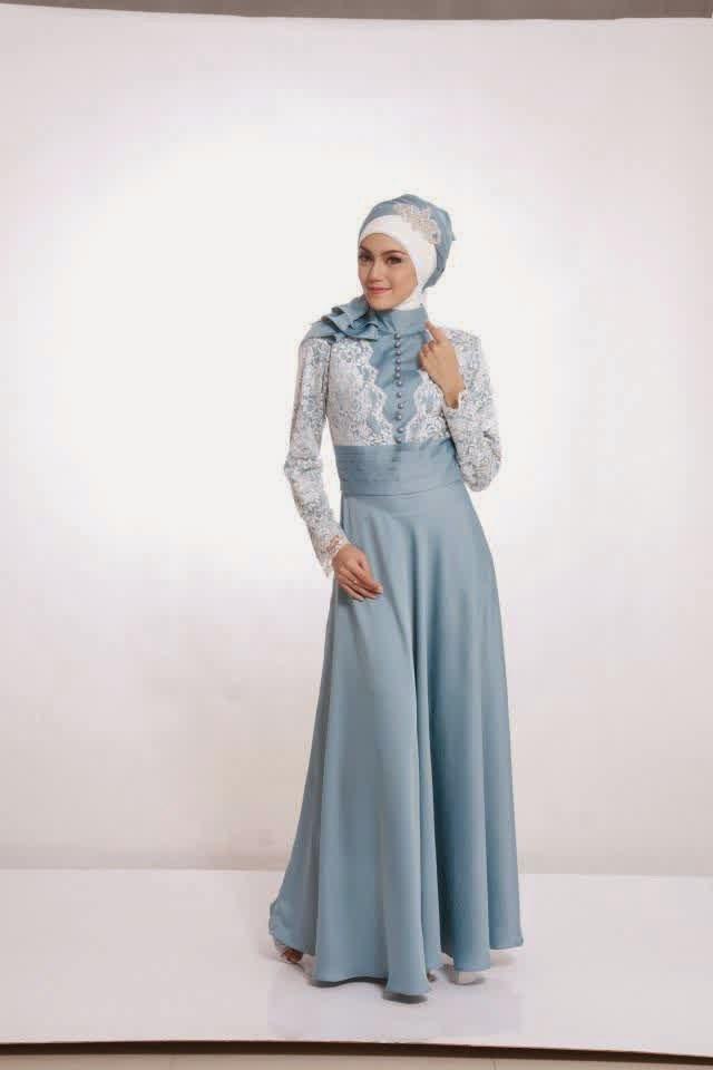 Trend Fashion Busana Muslim Brokat Terbaik 2015