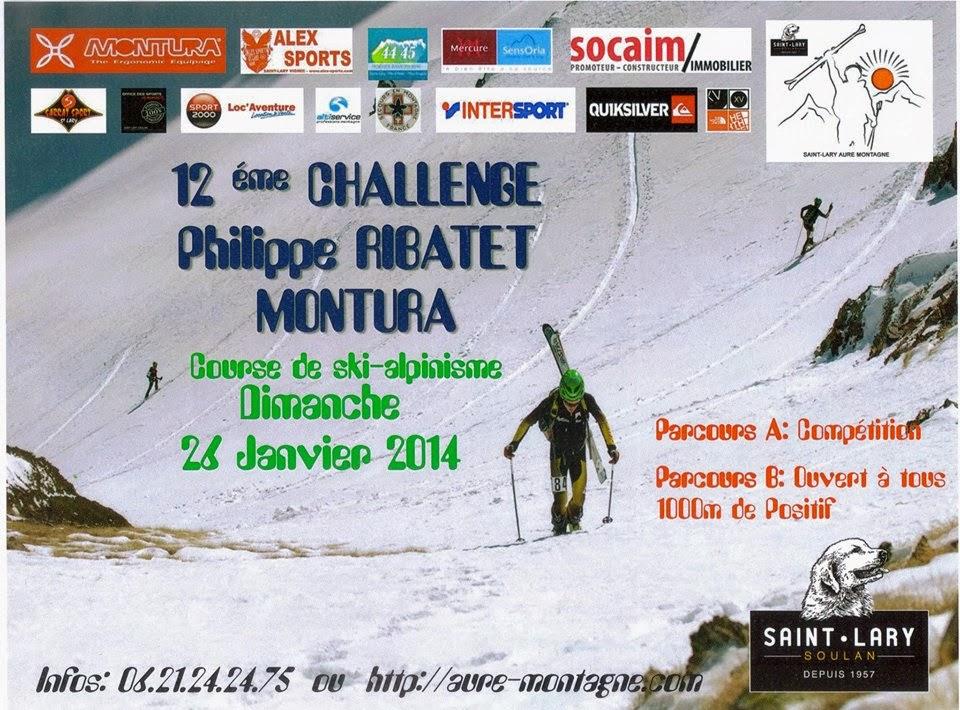 ski alpin Coupe des Pyrénées  trophée Philippe Ribatet Montura 2014