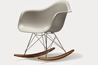 Cadira balancí RAR 1948 Charles & Ray Eames