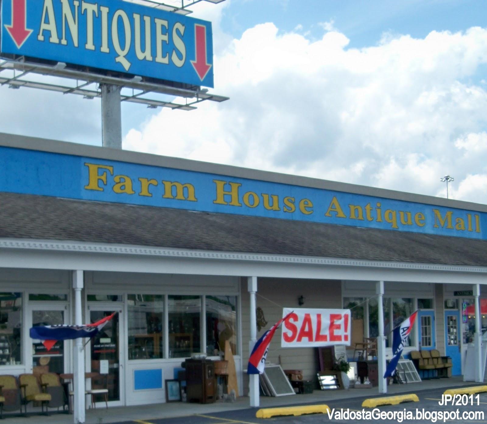 Antiques Farm House Antique Mall Valdosta Georgia Lakes Boulevard Lake Park I 75 Exit Collectables Lowndes County Ga