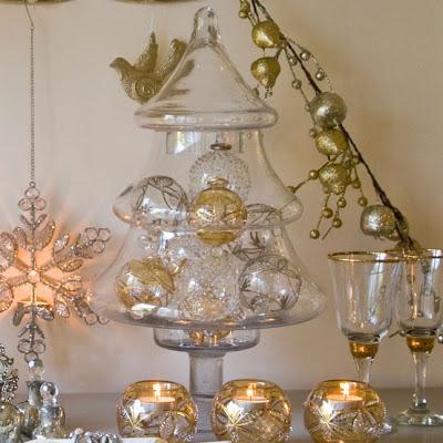 Christmas Tree jar by Butterfly Lane