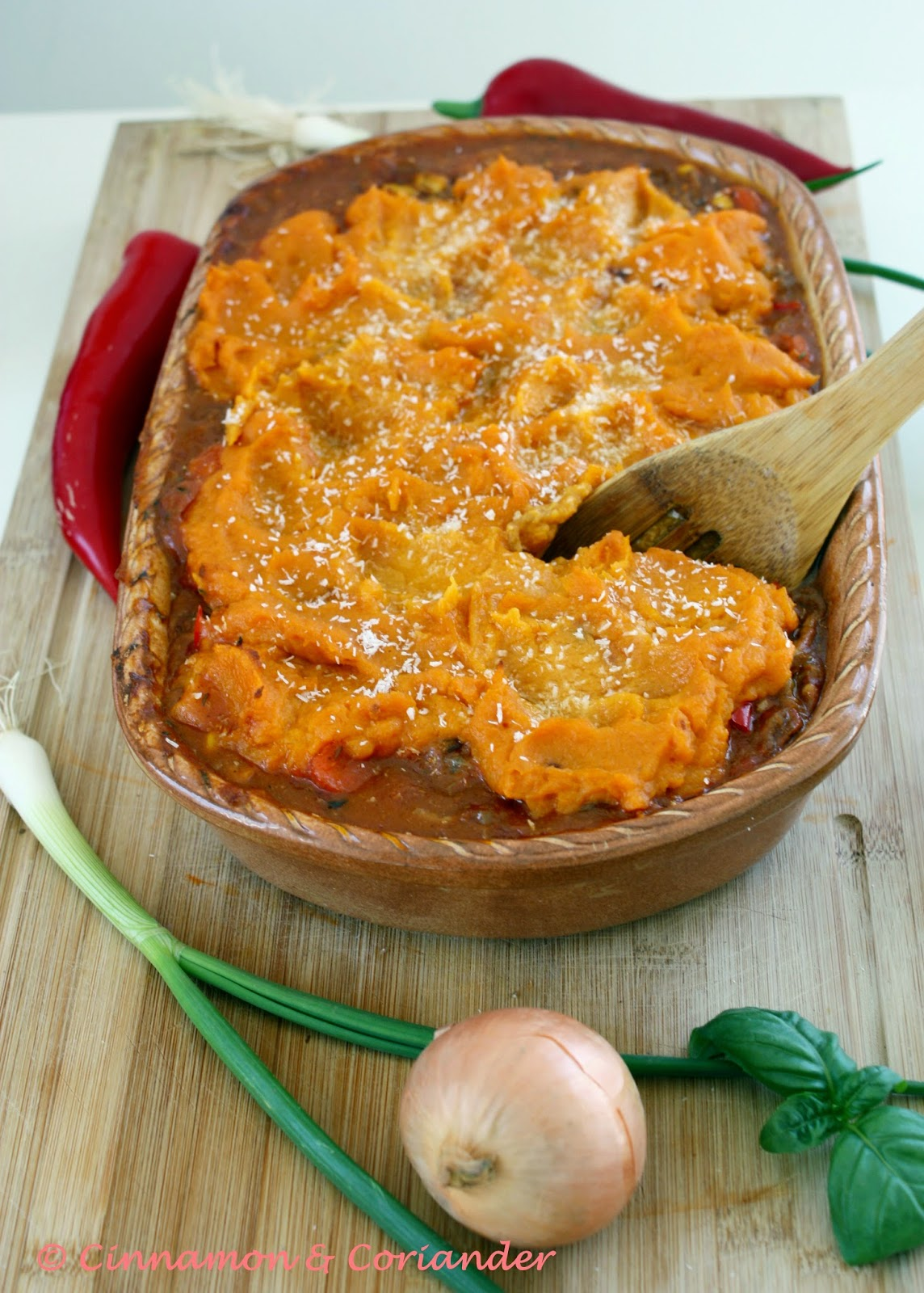 Shepherds Pie Sweet Potatoe Topping