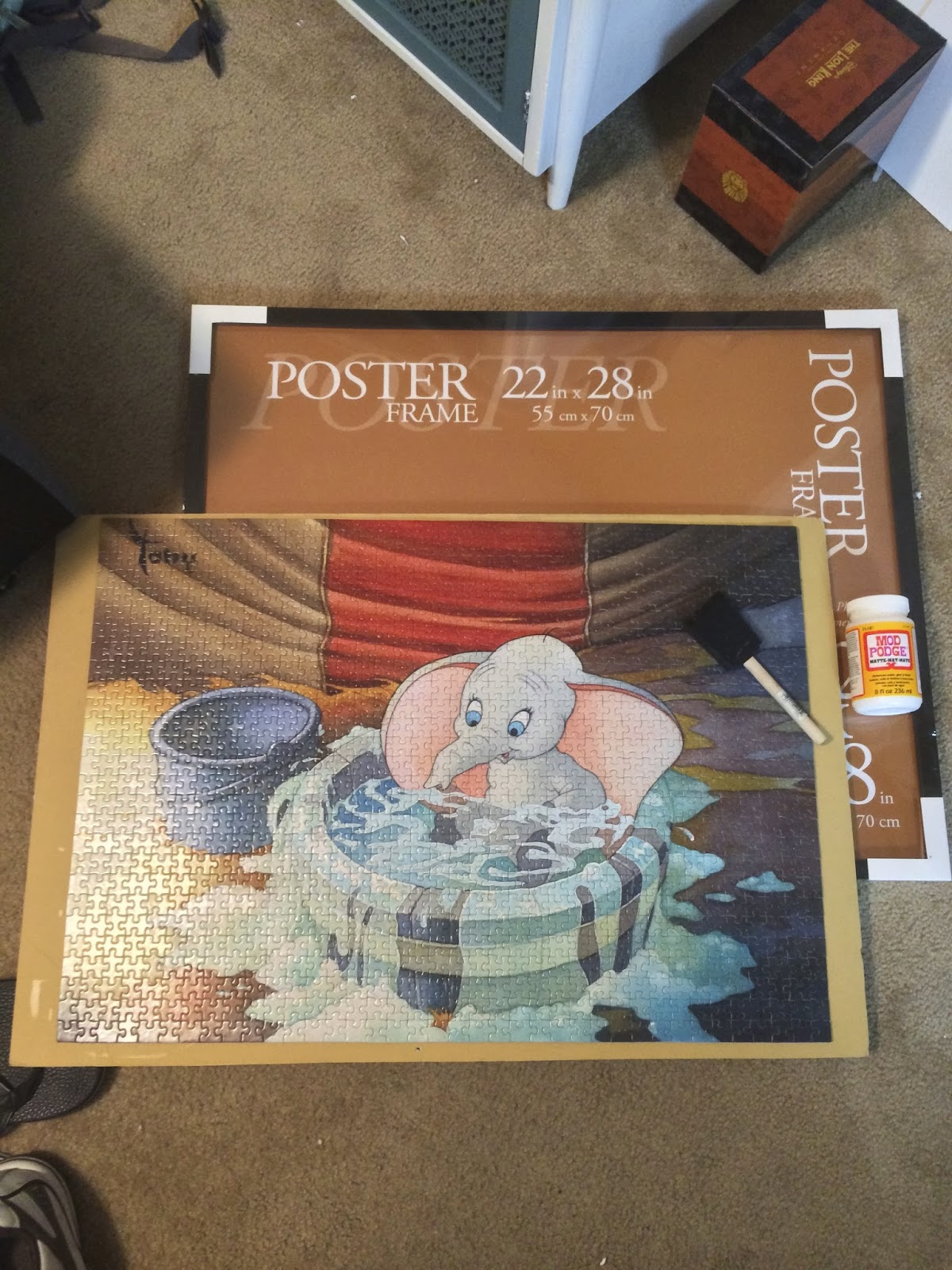 How to Frame a Puzzle | Forever in the Making